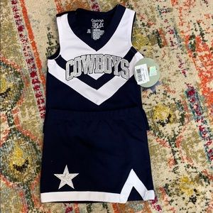 Dallas Cowboys Cheerleading Outfit Size 6-6X